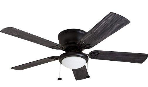 Benton LED Globe Light Hugger Ceiling Fan