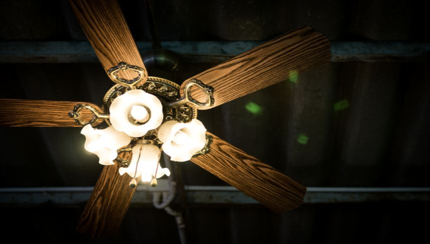 modern ceiling fans with light and remote