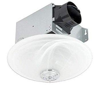 Delta Breezgreenbuilder Exhaust Bathroom Fan With Led Light