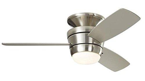 Harbor Breeze Mazon 44-in Flush Mount Bedroom Ceiling Fan