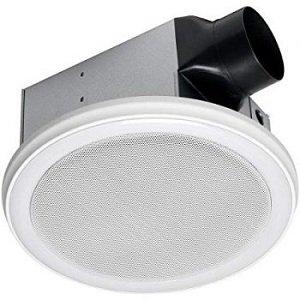 Homewerks Bathroom Fan & Speaker with Led Light