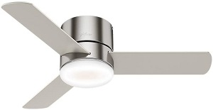 Hunter Minimus Indoor Low Profile Ceiling Fan For Kitchen