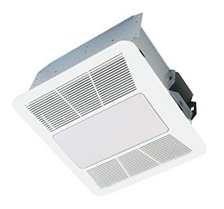Kaze Appliance Quiet Bathroom Fan with Led Light