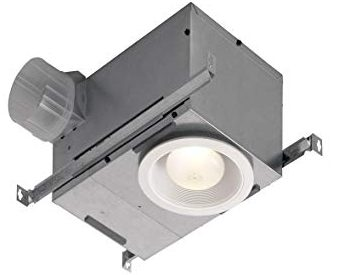 Nutone Recessed Bathroom Fan with Led Lighting