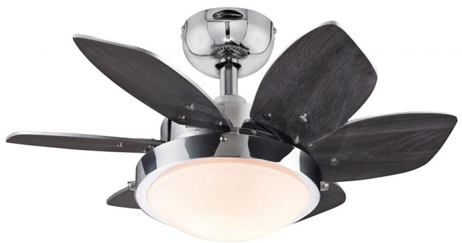 Westinghouse 24-Inch Chrome kitchen Ceiling Fan