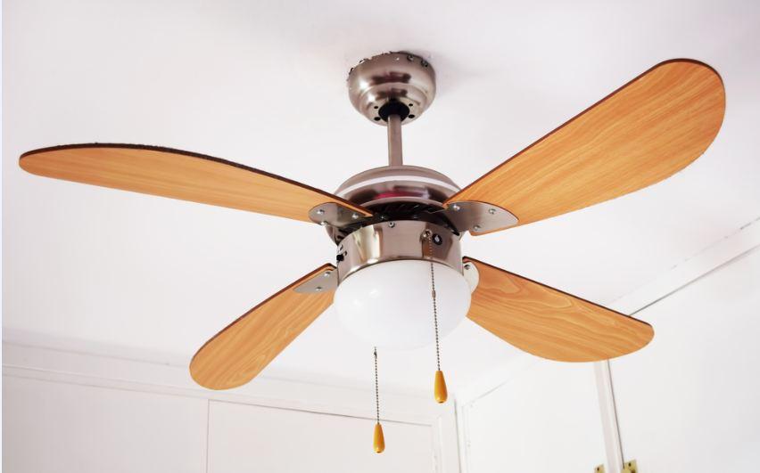 noiseless ceiling fan