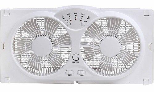 Genesis high-Velocity Twin Window Fan