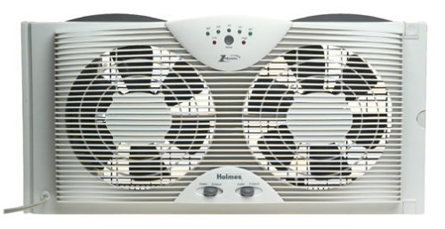 Holmes Dual Blade Twin Window Cooling Fan