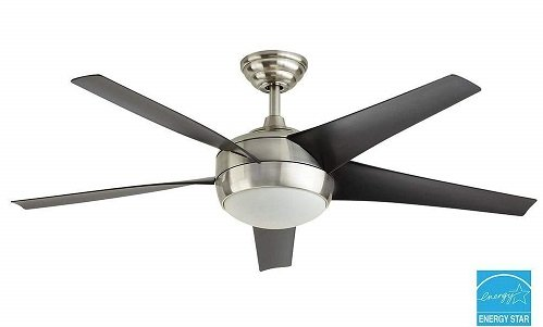 Windward IV 52 inch Large Bedroom Ceiling Fan