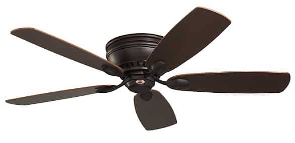 Emerson Prima Snugger 52-Inch Low Profile Ceiling Fan without Light