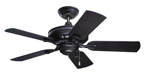 Emerson Veranda Flush Mount Ceiling Fan without Lights