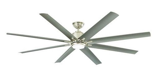 Home Decorators Kensgrove Outdoor Ceiling Fan with Light and remote