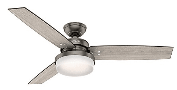 Hunter 59211 Sentinel Ceiling Fan with light and Remote