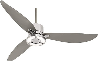 Possini Euro 3 Blade Ceiling Fan with LED Light and Remote Control