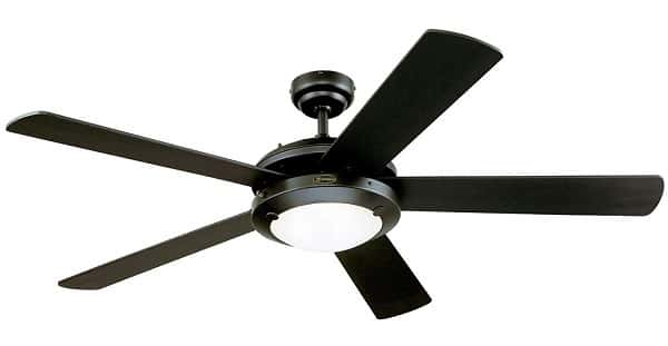 Westinghouse Lighting Comet 52-Inch Ceiling Fan with Bright Light