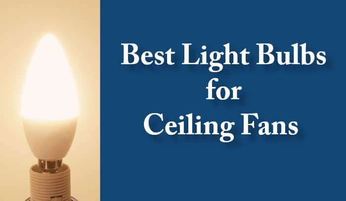 Best Light Bulbs for Ceiling Fans