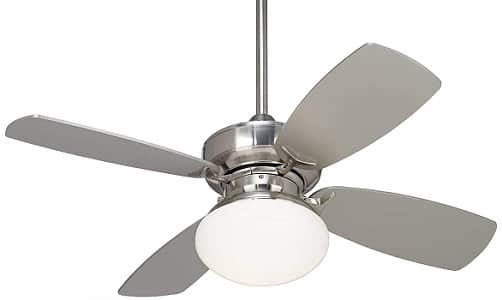 Casa Vieja Outlook Modern Bronze Ceiling Fan with Light