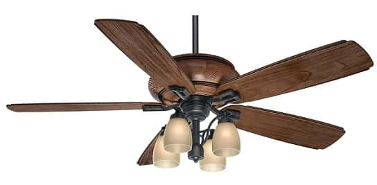 Casablanca Heathridge Outdoor Ceiling Fan for Beach House