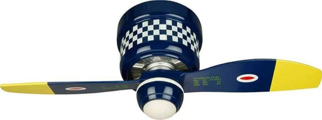 Craftmade Flush Mount 2 blade Ceiling Fan with Light