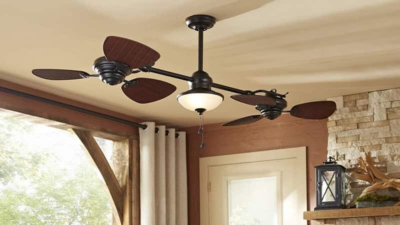 Harbor Breeze Double Ceiling Fan