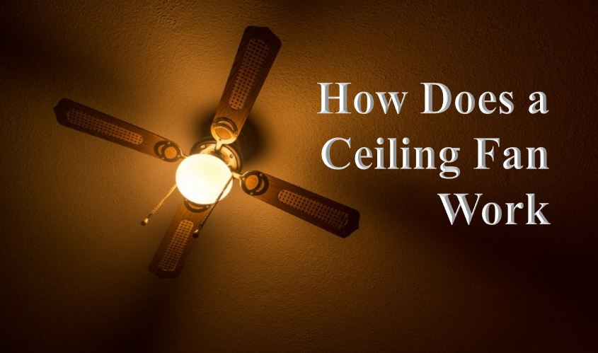 How Does a Ceiling Fan Work explained