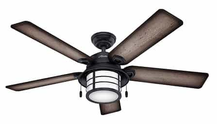 Hunter Key Biscayne Outdoor Ceiling Fan for Beach House