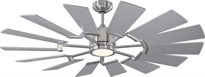 Monte Carlo 14PRR52BSD Prairie II Windmill Ceiling Fan with Light