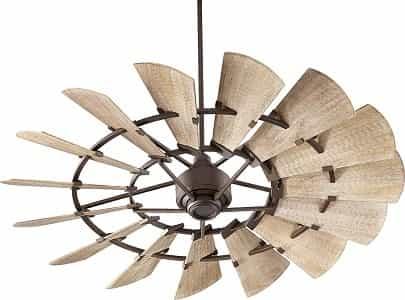 Quorum 96015-86 Indoor 60 Windmill Ceiling Fan