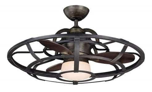 Savoy House Vintage Downrod Mount Ceiling fan