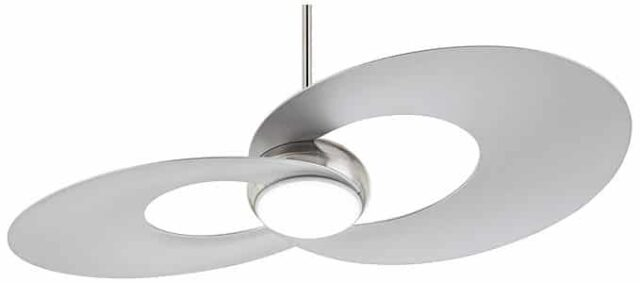 Two Blade Innovation Modern Ceiling Fan with Light