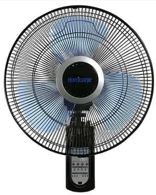 Hurricane Super 8 outdoor oscillating fans wall mount