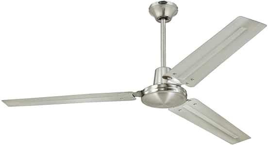 Long Downrod Large Ceiling Fan -Westinghouse 7861400 Industrial