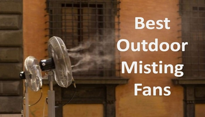 best outdoor misting fans