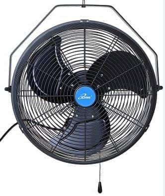 iLIVING 18 inch Wall Mount Outdoor Waterproof Fan