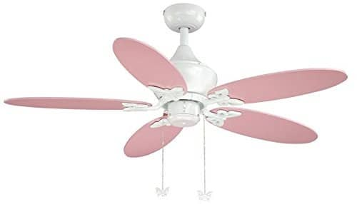 AireRyder FN44322W Downrod Mount Playroom Ceiling fan