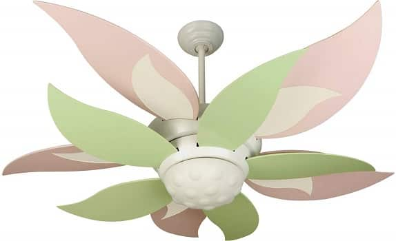 Craftmade K10367 Bloom 52 Playroom Design Ceiling Fan