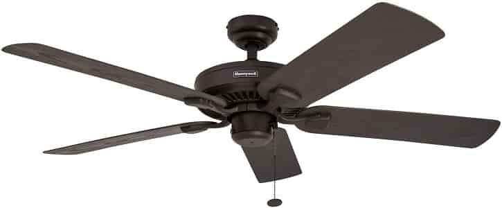 Honeywell Belmar Ceiling fan for Garage