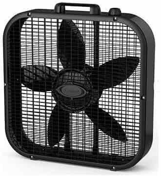 Lasko B20401 Decor Black Color 20 Box Fan