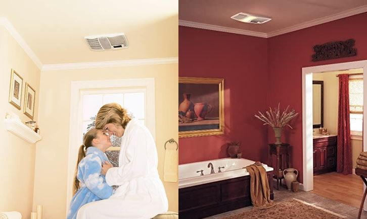 Best Bathroom Exhaust Fans with Light and Heater