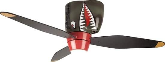 Craftmade Tiger Shark Warplane Kids Ceiling Fan