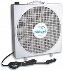 Fan-Tastic Vent 01100WH Endless Breeze Cooling fan