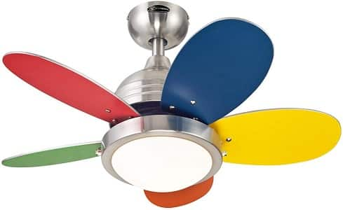 Westinghouse Lighting Roundabout Indoor Playroom Ceiling Fan
