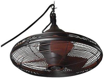 Allen & Roth Oil-Rubbed Bronze plug in Ceiling Fan