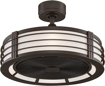 Fanimation Beckwith Bladeless Ceiling Fan with Light