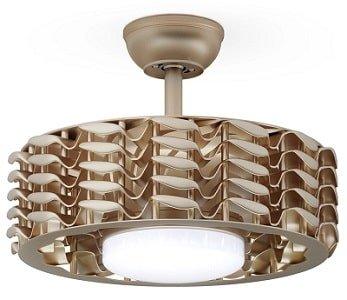 RanBB Bladeless Ceiling Fan with Led Light