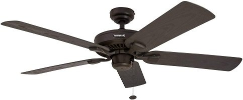 Honeywell Belmar 52-Inch Damp Rated Ceiling Fan