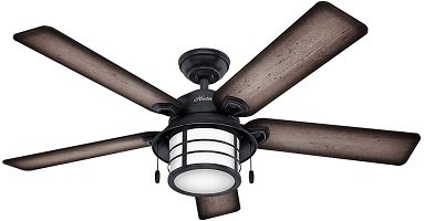 Hunter 59135 Key Biscayne 54 inch Garage Ceiling Fan