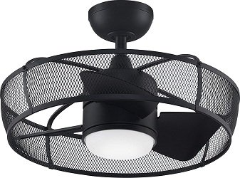 Fanimation FP8519BL Henry Enclosed Blade Ceiling Fan