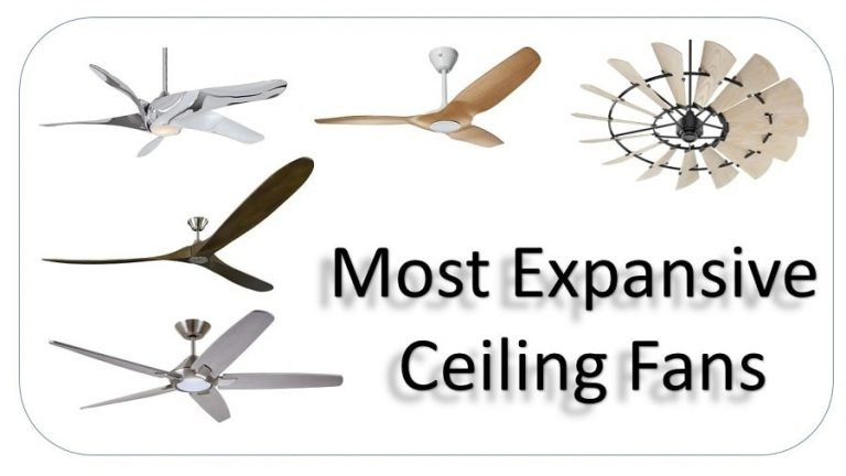 Best Most Expensive Ceiling Fans