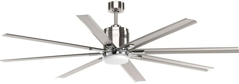 Vast Collection 72-Inch 8-Blade Gray Most Expensive Electric Fan